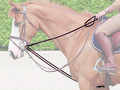 Dy'on Leather draw reins